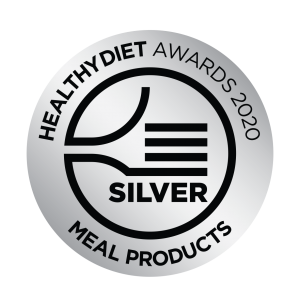 Healthy Diet Awards Stickers_Meal Products Silver